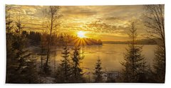 Norway Hedmark Hand Towel by Rose-Maries Pictures