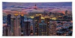 Bath Towel featuring the photograph Not Hong Kong by Ron Shoshani