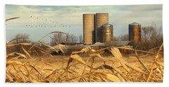 November Winds Hand Towel by Doug Kreuger