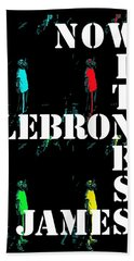 Now Witness Lebron James Hand Towel