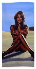Nude Beach Beauty Hand Towel