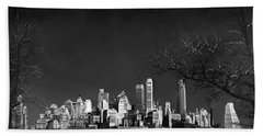 Nyc From Governors Island Hand Towel
