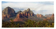 Oak Creek Canyon Sedona Pan Bath Towel by Jeff Brunton