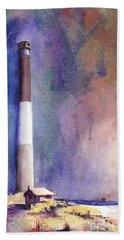 Oak Island Lighthouse Hand Towel