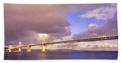 Oakland Bay Bridge San Francisco Bath Towel