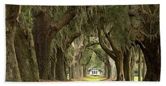 Oaks Of The Golden Isles Hand Towel by Adam Jewell