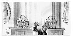 Obama Dropping A Mic Bath Towel