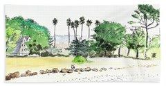 Ocean Beach Hand Towel