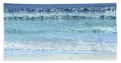 Ocean Colors Abstract Hand Towel