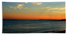 Bath Towel featuring the photograph Ocean Hues No. 2 by Neal Eslinger