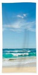 Hand Towel featuring the photograph Ocean Of Joy by Sharon Mau