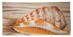 Ocean Shell Bath Towel