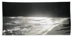 Bath Towel featuring the photograph Ocean Smile by Fiona Kennard