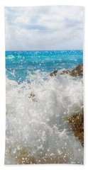 Ocean Spray Hand Towel