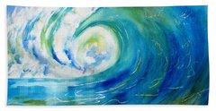 Ocean Wave Hand Towel