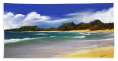 Oceanside Dream Bath Towel by Anthony Fishburne