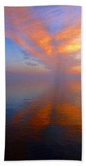 Ocracoke Nc Sunrise Bath Towel