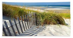 Hand Towel featuring the photograph October Beach by Dianne Cowen