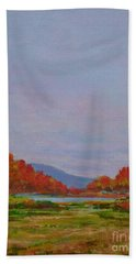 October Morning Hand Towel by Gail Kent