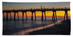 October Sunset Bath Towel