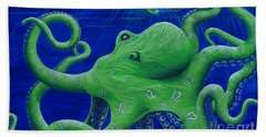 Octohawk Bath Towel