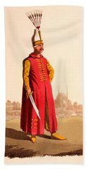 Officer Of The Janissaries, From The Bath Towel