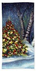 Oh My. A Christmas Tree Hand Towel