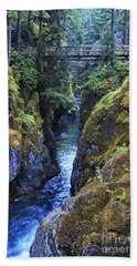 Ohanapecosh River Bath Towel