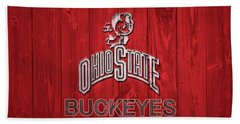 Ohio State Buckeyes Barn Door Hand Towel