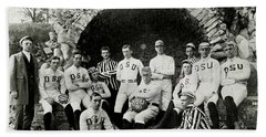 Ohio State Football Circa 1890 Hand Towel