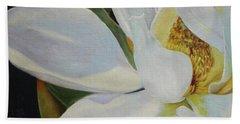 Oil Painting - Sydney's Magnolia Hand Towel