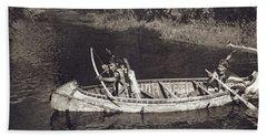 Ojibwas Hunting Bath Towel
