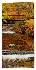 Bath Towel featuring the photograph Okanagan Autumn by Kathy Bassett