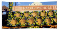 Hand Towel featuring the painting Oktoberfest by Lynne Reichhart
