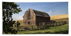 Old Barn On The Palouse Hand Towel