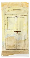 Old Door Hand Towel