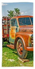 Hand Towel featuring the photograph Old Dually by Sue Smith