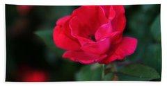 Old Fashioned Rose Bath Towel