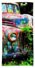 Old Ford #2 Hand Towel by Sandy MacGowan