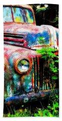 Old Ford #2 Bath Towel by Sandy MacGowan