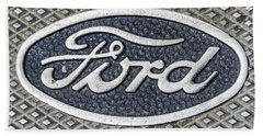 Old Ford Symbol Hand Towel