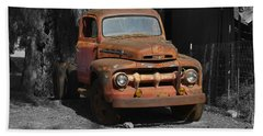 Old Ford Truck Bath Towel