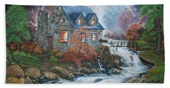 Old Grist Mill Bath Towel