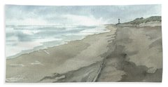 Old Hatteras Light Bath Towel