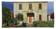 Old House In Crespi D'adda Hand Towel
