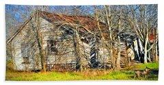 Old House Hand Towel by Savannah Gibbs