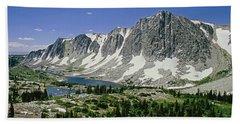 M-09702-old Main Peak, Wy Hand Towel