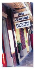 Hand Towel featuring the photograph Old Nawlins by Erika Weber