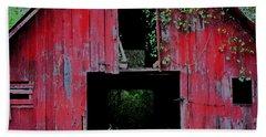 Old Red Barn IIi Hand Towel by Lanita Williams