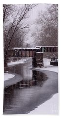 The Nifti Railroad Bridge Bath Towel